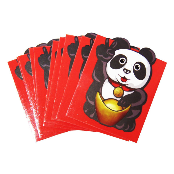 'Lucky Panda' red packets, set of 10