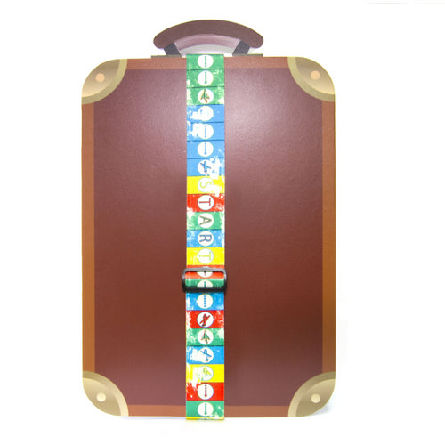 Flying Chess Luggage Strap