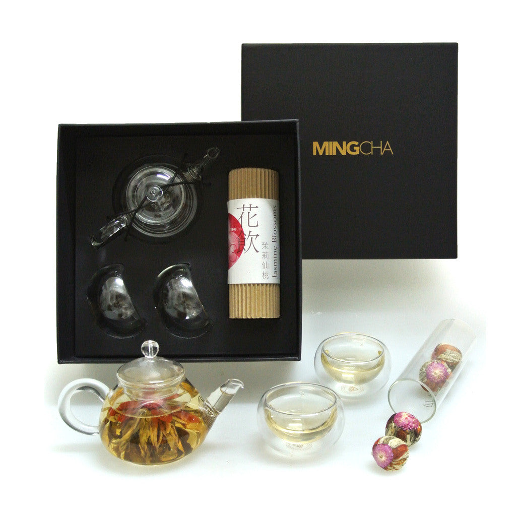 MINGCHA Tea pot set - Jasmine Blossom Tea