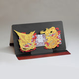 POSTALK Large pop-up card, Dragon and Phoenix