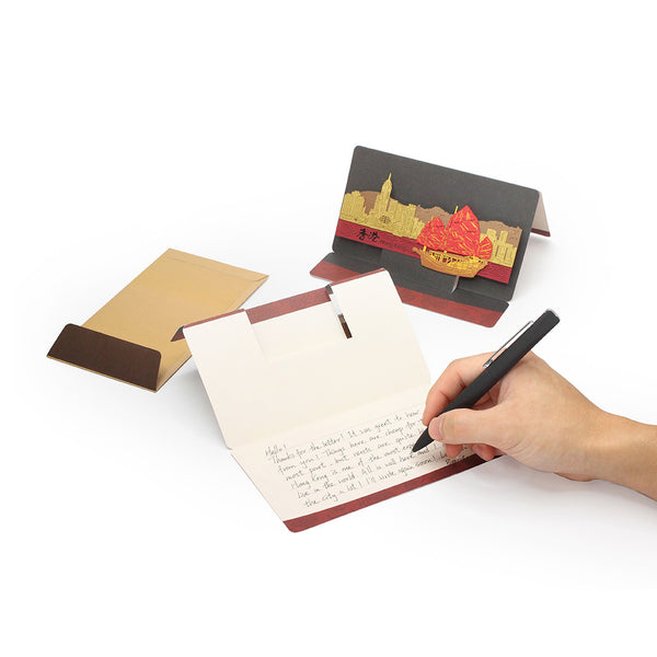 POSTalk large pop-up card, Dragon Boat Racing