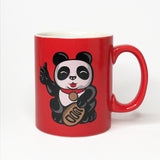 'Lucky Panda - Great!' Large Mug