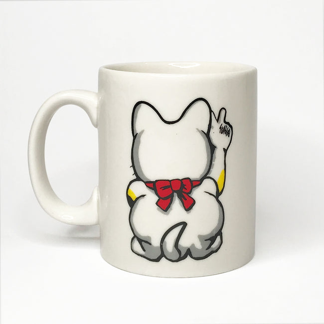 'Lucky Cat' Large Mug