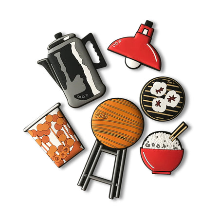Bun Festival Pushpin Set