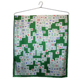 'Mahjong Puzzle' Silk Scarf, Large