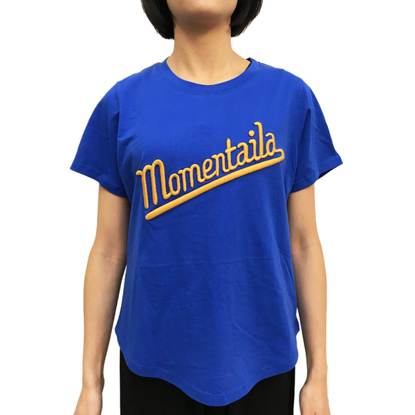 'Momentaila' Ladies T-shirt, Blue