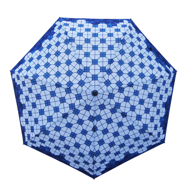 'Mosaic Tiles' Teflon auto umbrella