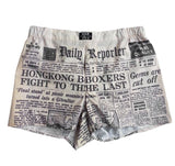 'Daily Reporter' boxer shorts - Goods of Desire