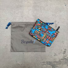 Load image into Gallery viewer, 'Nathan Road Puzzle' Leather Essential Flat Pouch