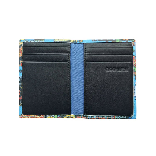 'Nathan Road Puzzle' leather cardholder