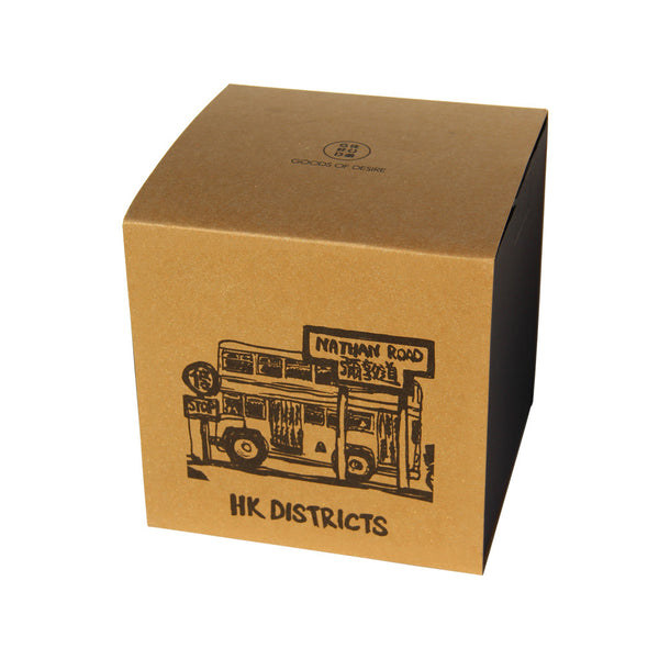 'Hong Kong Districts' soy jar candle (Nathan Road), Homeware, Goods of Desire, Goods of Desire
