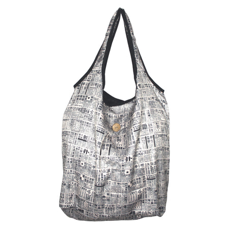 'Alex Croft x G.O.D. Graffiti Wall' Recyclable Bag