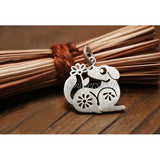 Chinese Zodiac Dog Charm by Silversmith