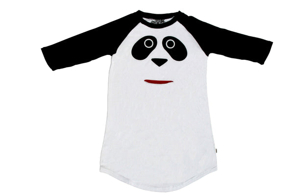 Panda black and white kid's pajama