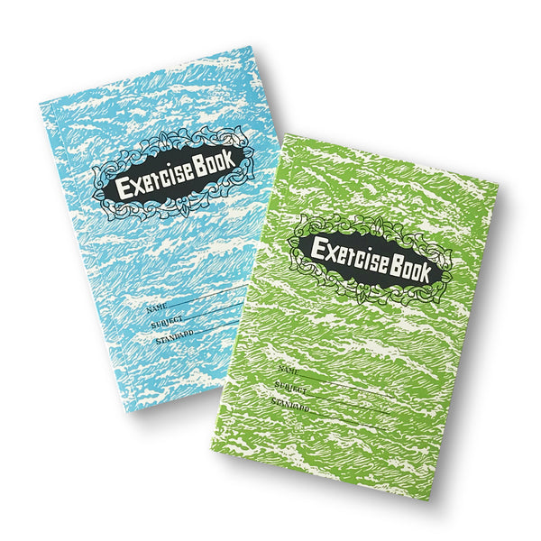 'Exercise Book' Notebook, Blue