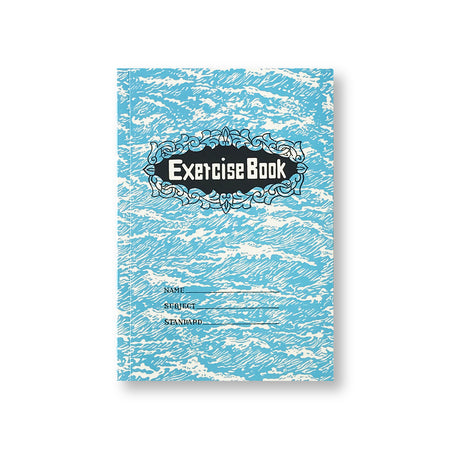 'Exercise Book' Notebook, Green