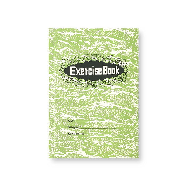 'Exercise Book' noteboook (green)