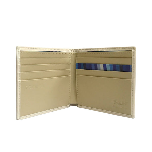 'G.O.D. Note' leather billfold wallet