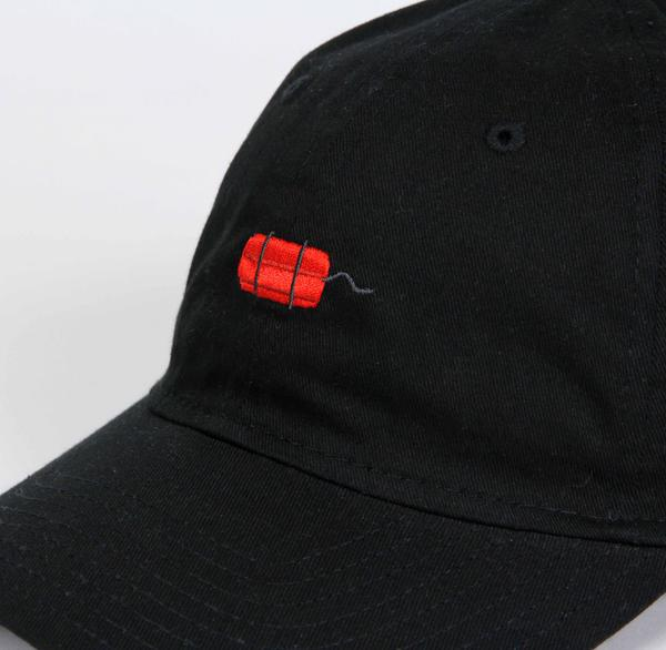 Carnaby Fair 'Out of Dark' Dad Cap (Black)