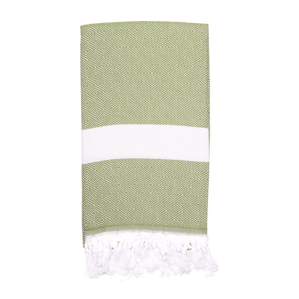 Sultan Turkish Towel, Orchard Green