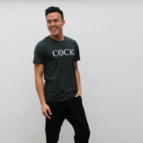 'Year of the Cock' tee (army green)