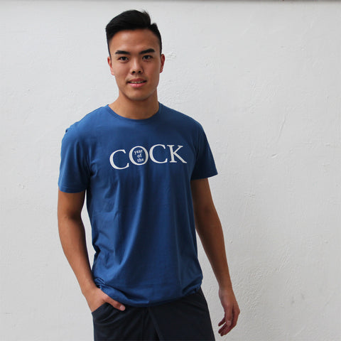 'Year of the Cock' tee (midnight)