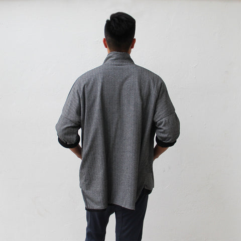 'Ka Lok' Lama coat (black wash)