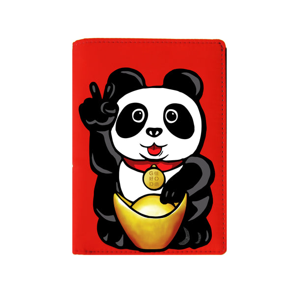 'Lucky Panda' passport holder