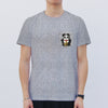 'Panda - Angry' Pocket T-shirt