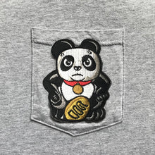 Load image into Gallery viewer, 'Panda - Angry' Pocket T-shirt