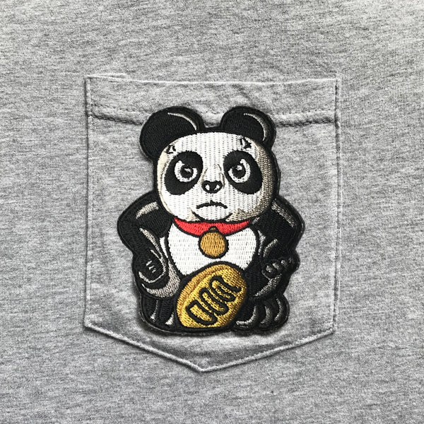 Angry Panda Pocket T-Shirt