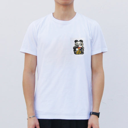 'Lion - Eye Roll' Pocket T-shirt