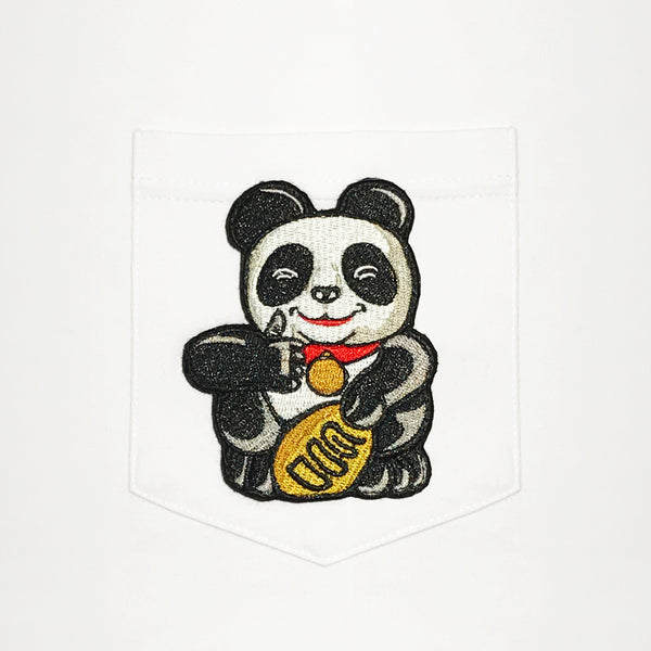 Thumbs Up Panda Pocket T-Shirt