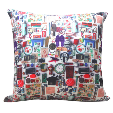 'Alex Croft x G.O.D. Graffiti Wall' Cushion Cover - 45x45cm
