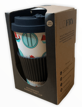 Load image into Gallery viewer, Liz Fry Design Bamboo Cup, Junk & Dim Sum