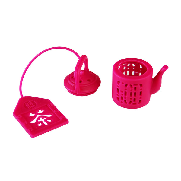 'Mini Teapot' tea infuser (fuschia), Tableware, Goods of Desire, Goods of Desire