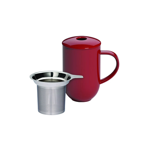 Loveramics Pro Tea 450ml Mug with Infuser & Lid - Red