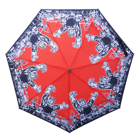 'Double Happiness' Teflon™ Quick Dry Umbrella