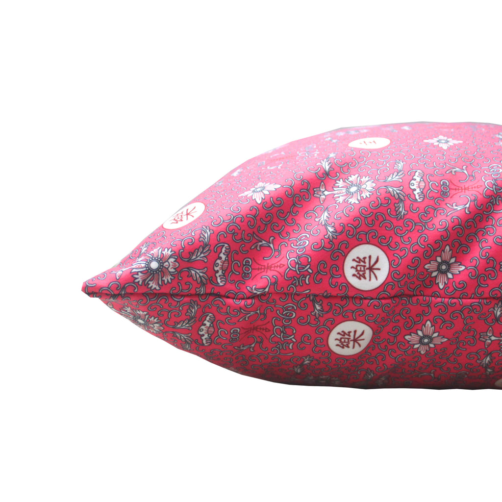 'Prosperity' cushion cover (Pink) (45 x 45 cm)