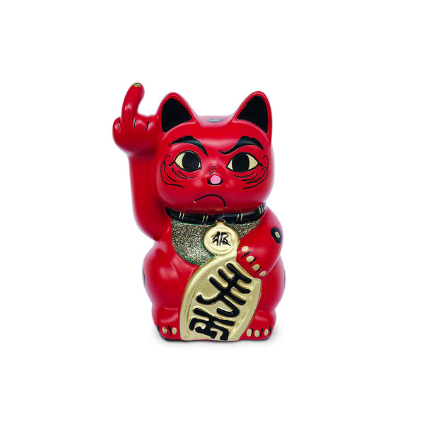 'Angry Cat' (small, red)