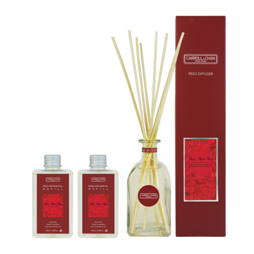 Red Red Rose 200ml Diffuser Set by Carroll&Chan