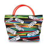 'Rainbow Street Signs' mini tote