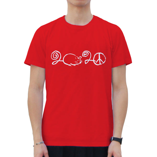 '2020 Year of the Rat' T-shirt, Red