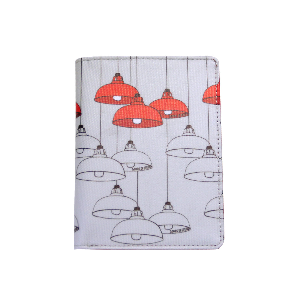 'Red Lamps' passport holder