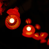 'Red Lantern' decorative lights (string of 12)