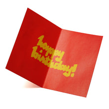 Load image into Gallery viewer, 'Longevity' birthday greeting card, Greeting Cards, Goods of Desire, Goods of Desire
