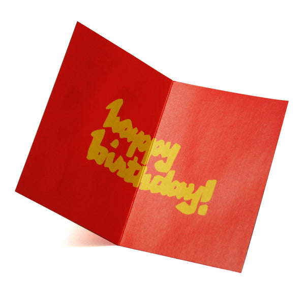 'Longevity' birthday greeting card, Greeting Cards, Goods of Desire, Goods of Desire