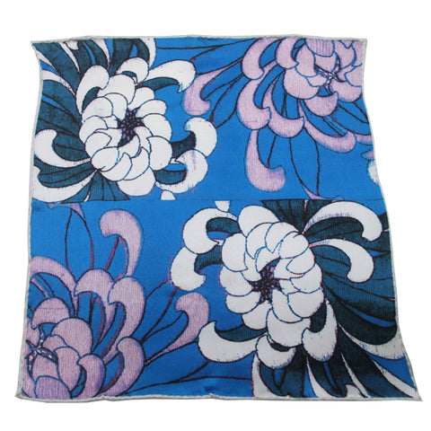 'Chrysanthemums' pocket square - Goods of Desire