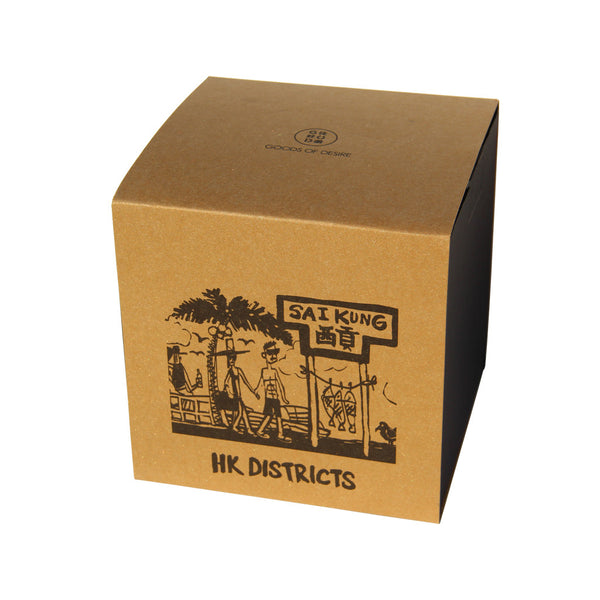 'Hong Kong Districts' soy jar candle (Sai Kung), Homeware, Goods of Desire, Goods of Desire