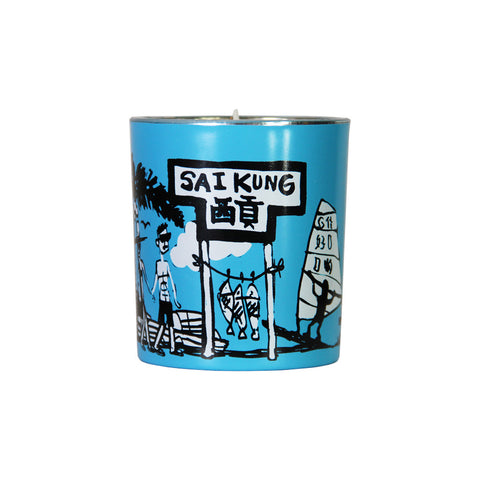 'Hong Kong Districts' soy jar candle (Sai Kung)